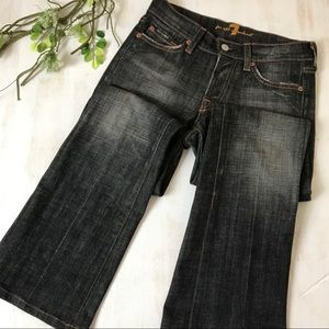 7 For All Mankind High Rise Bootcut Jeans Size 24